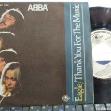 Discos de vinilo: ABBA SINGLE PROMOCIONAL EAGLE ESPAÑA 1978. Lote 209692815