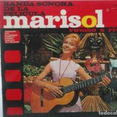 Discos de vinilo: MARISOL-BANDA SONORA DE LA PELICULA RUMBO A RIO-EXCELENTE ESTADO. Lote 209707480