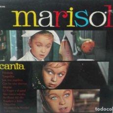 Discos de vinilo: MARISOL CANTA-EXCELENTE ESTADO. Lote 209707993