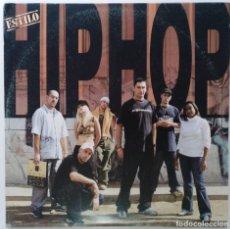 """Discos de vinilo: ESTILO HIP HOP [VINILO RECOPILATORIO DAVID BUSQUETA 2002 [3LP 12"""" 33RPM] DISCOS TESLA 2002. Lote 235678610"""
