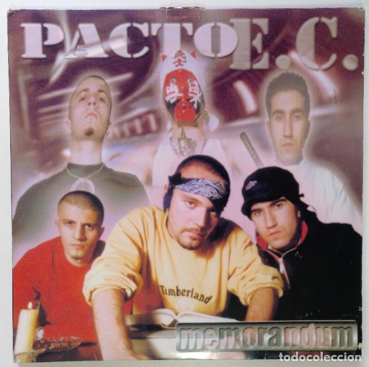 """PACTO ENTRE CASTELLANOS - MEMORANDUM [PACTO E. C.] [2LP 12"""" 33RPM] AVOID RECORDS 1999 BOA MUSIC (Música - Discos - LP Vinilo - Rap / Hip Hop)"""
