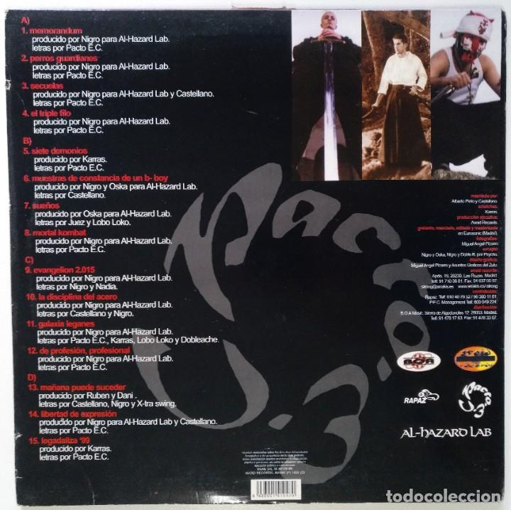 "Discos de vinilo: PACTO ENTRE CASTELLANOS - MEMORANDUM [PACTO E. C.] [2LP 12"" 33RPM] AVOID RECORDS 1999 BOA MUSIC - Foto 2 - 209709950"