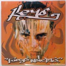 """Discos de vinilo: KEYO - A FUEGO ABIERTO [HIP HOP / RAP] [EDICIÓN ESPECIAL LIMITADA 2LP 12"""" 33RPM] 2003. Lote 209710530"""