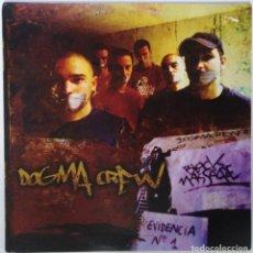 """Discos de vinilo: DOGMA CREW - BLOCK MASACRE [ HIP HOP / RAP] [EDICIÓN LIMITADA 2LP 12"""" 33RPM] 2003 RAP SEVILLA. Lote 209710722"""