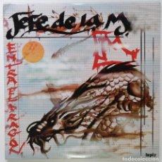 """Discos de vinilo: JEFE DE LA M - ENTRA EL DRAGON [HIP HOP / RAP] [EDICIÓN ESPECIAL LIMITADA 2LP 12"""" 33RPM] 2003. Lote 209711207"""