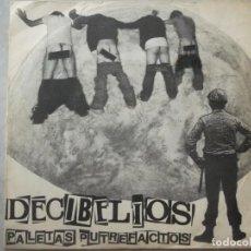 Discos de vinilo: DECIBELIOS-PALETAS PUTREFACTOS-EDICION ORIGINAL DRO. Lote 209711221
