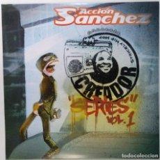 """Discos de vinilo: ACCIÓN SÁNCHEZ - CREADOR SERIES VOL. 1 [ SFDK EDICIÓN ESPECIAL + INSTRUMENTALES 2LP 12"""" 33RPM] 2004. Lote 209711398"""