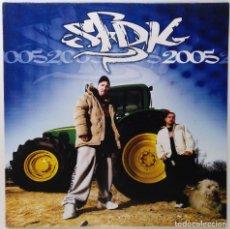 """Discos de vinilo: SFDK - 2005 [EDICIÓN ORIGINAL 2005] [HIP HOP / RAP] [EDICIÓN ESPECIAL LIMITADA 2LP 12"""" 33RPM] 2005. Lote 209711713"""