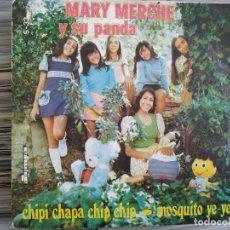 Discos de vinilo: MARY MERCHE Y SU PANDA - CHIPI CHAPA CHIP CHIP, MOSQUITO YE-YE. Lote 209712162
