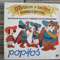 Discos de vinilo: POPITOS, D'ARTACAN Y LOS TRES MOSQUEPERROS. BELTER 1982. Lote 209712285