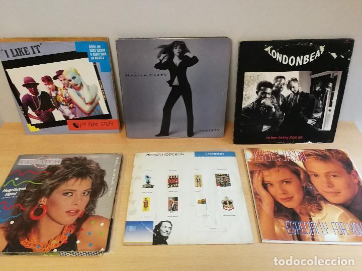 16 MAXI SINGLES DE DIFERENTES ESTILOS, ESTAN TODOS FOTOGRAFIADOS. (Música - Discos de Vinilo - Maxi Singles - Otros estilos)