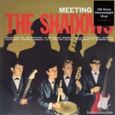Discos de vinilo: THE SHADOWS ?LP 180G HEAVYWEIGHT * MONO * MEETING WITH THE SHADOWS * PRECINTADO. Lote 209714631