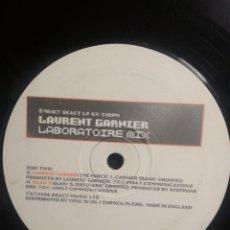 Discos de vinilo: LAURENT GARNIER LABORATOIRE MIX 4 TRACK MAXI PEPETO. Lote 209720133
