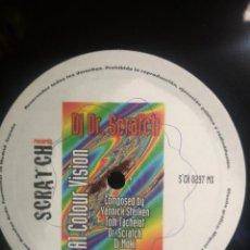 Discos de vinilo: DJ DR. SCRATCH COLOUR VISION SCRAT CH RECORDS MAXI 1997 PEPETO. Lote 209722960