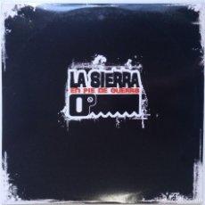 Discos de vinilo: LA SIERRA - EN PIE DE GUERRA [ HIP HOP / RAP COMPILATION ] [EDICIÓN LIMITADA 2LP 33RPM] [2003]. Lote 209725565