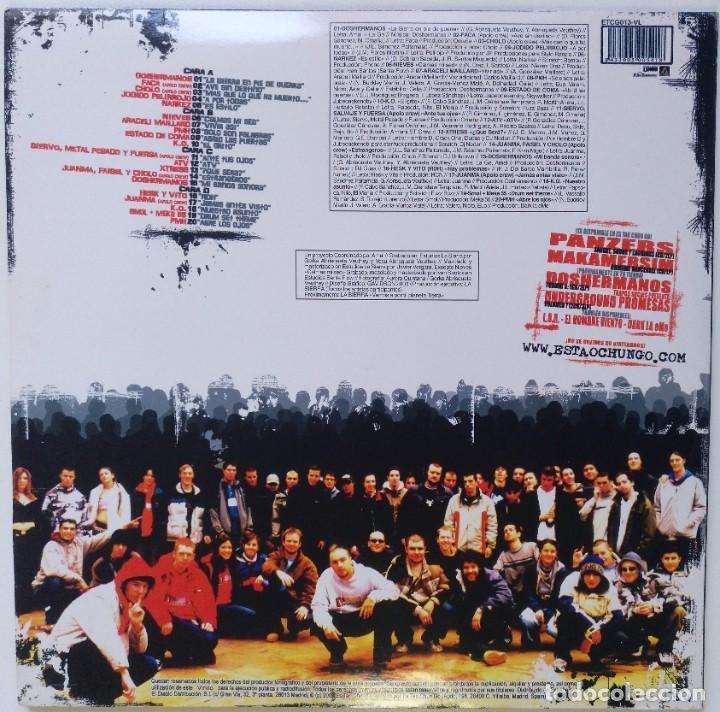 Discos de vinilo: LA SIERRA - EN PIE DE GUERRA [ HIP HOP / RAP COMPILATION ] [EDICIÓN LIMITADA 2LP 33RPM] [2003] - Foto 2 - 209725565