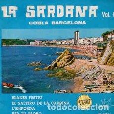 Discos de vinilo: COBLA BARCELONA - LA SARDANA VOL 1 EP- MARFER SPAIN 1966. Lote 209728788