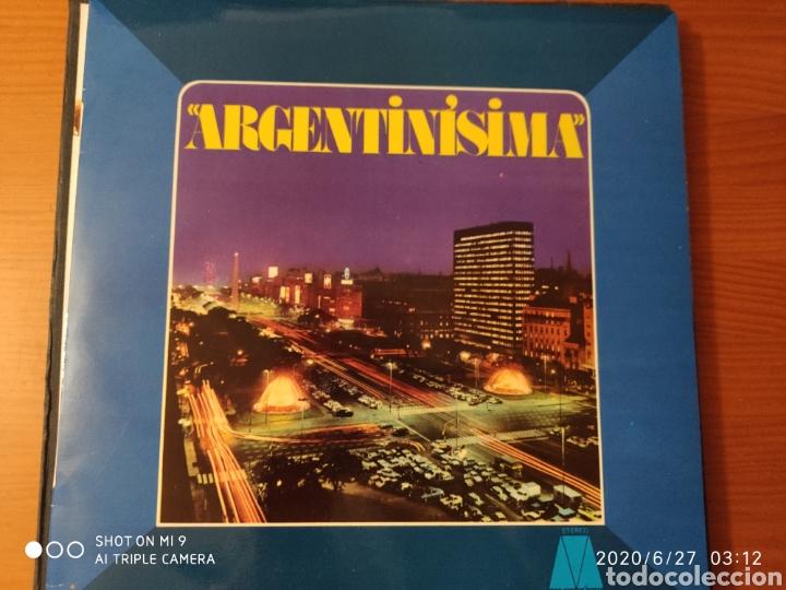 Discos de vinilo: MÚSICA POPULAR ARGENTINA, ESTUCHE, TRES LPS, 1974, ÚNICOS, NESTLÉ, VER - Foto 7 - 209729335