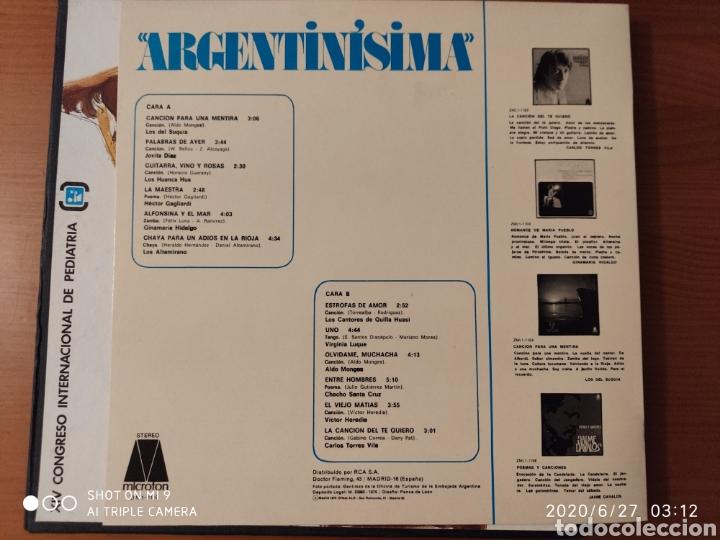 Discos de vinilo: MÚSICA POPULAR ARGENTINA, ESTUCHE, TRES LPS, 1974, ÚNICOS, NESTLÉ, VER - Foto 8 - 209729335