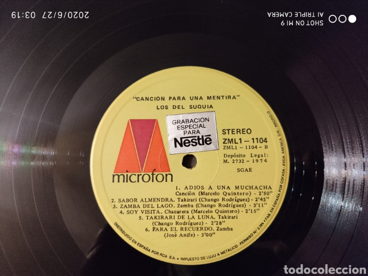 Discos de vinilo: MÚSICA POPULAR ARGENTINA, ESTUCHE, TRES LPS, 1974, ÚNICOS, NESTLÉ, VER - Foto 18 - 209729335