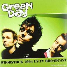 Discos de vinilo: GREEN DAY * LP VINILO * WOODSTOCK 1994 US TV BROADCAST * LTD 500 COPIAS!!!. Lote 209729492