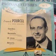 Discos de vinilo: EP ( VINILO) DE FRANCK POURCEL AÑOS 60. Lote 209735558