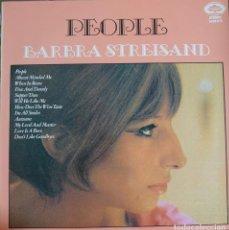 Discos de vinilo: BARBARA STREISAND LP SELLO HALLMARK EDITADO EN INGLATERRA. Lote 209737371