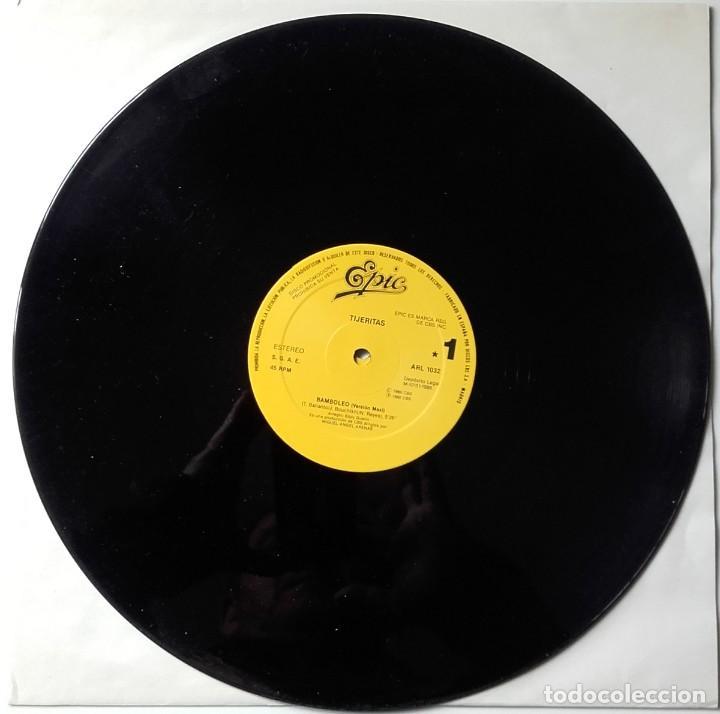Discos de vinilo: Azúcar Moreno y Tijeritas: Bamboleo- Aunque me falte el aire - Foto 2 - 209741341
