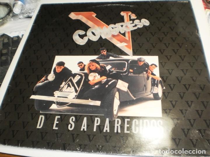 LP Vº CONGRESO. DESAPARECIDOS.CFE 1984 SPAIN (PROBADO, BIEN, BUEN ESTADO) (Música - Discos - LP Vinilo - Grupos Españoles de los 70 y 80)