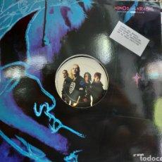 Discos de vinilo: NIÑOS DEL BRASIL MAXI LAS CURVAS DEL PLACER 1991 EN PERFECTO ESTADO. Lote 209755435