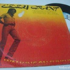 Discos de vinilo: EDDY GRANT - CAMINANDO SOBRE EL SOL .. SINGLE DE 1979 - ICE - MOVIEPLAY - ESPAÑOL .. Lote 209758190