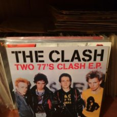 Discos de vinilo: THE CLASH / TWO 77'S CLASH E.P. / NOT ON LABEL. Lote 209765653