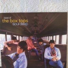 Discos de vinilo: THE BOX TOPS. SOUL DEEP. LP VINULO BUEN ESTADO. Lote 209766450