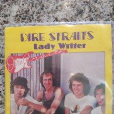 Discos de vinilo: DIRE STRAITS. LADY WRITER. SINGLE VINILO. BUEN ESTADO. Lote 209771276