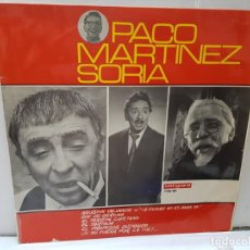 Discos de vinilo: LP-PACO MARTÍNEZ SORIA- EN FUNDA ORIGINAL 1966. Lote 209772133