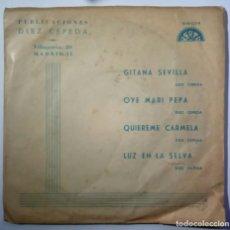 Discos de vinilo: ORQUESTA MONTERREY / FERNANDO KAR QUIEREME CARMELA - EP PRMOCIONAL 1971 - BERTA / DIEZ CEPEDA. Lote 209772405