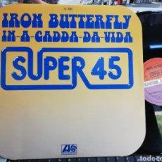 Discos de vinilo: IRON BUTTERFLY MAXI IN-A-GADDA-DA-VIDA ESPAÑA 1977. Lote 209772593