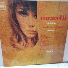 Discos de vinilo: LP-CARAVELLI-CUANDO ME ENAMORO EN FUNDA ORIGINAL 1968. Lote 209772945