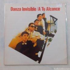 Discos de vinilo: DANZA INVISIBLE. A TU ALCANCE. TWINS, T-3081. 1988. FUNDA VG+. DISCO VG++.. Lote 209774495