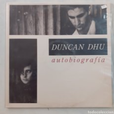 Discos de vinilo: DUNCAN DHU. AUTOBIOGRAFÍA. GATEFOLD. 6GA-0377. 1989.. Lote 217957777