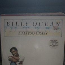 Discos de vinilo: BILLY OCÉANO CALIPSO CRAZY. Lote 209793083