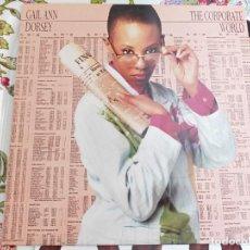 Discos de vinil: GAIL ANN DORSEY - THE CORPORATE WORLD (LP, ALBUM) 1988.SELLO:WEA CAT. Nº: 244 045-1.BUEN ESTADO. Lote 209795303