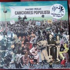 Discos de vinilo: NACHO VEGAS - CANCIONES POPULISTAS (VINILO + CD). Lote 209797245