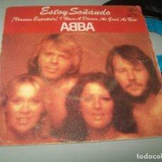 Discos de vinilo: ABBA - ( CANTAN EN ESPAÑOL ) ESTOY SOÑANDO + AS GOOD AS NEW .. SINGLE DE 1979 - CARNABY -. Lote 209761913