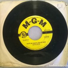 Disques de vinyle: CONWAY TWITTY. THE STORY OF MY LOVE/ MAKE ME KNOW YOU'RE MINE. MGM, USA 1959 SINGLE. Lote 209801855