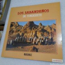 Discos de vinilo: LOS SABANDEÑOS - DE TENDERETE. Lote 209803691