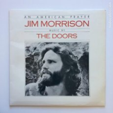 Discos de vinilo: JIM MORRISON MUSIC BY THE DOORS ‎– AN AMERICAN PRAYER SPAIN 1978 ELEKTRA. Lote 209808945