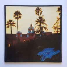 Discos de vinilo: EAGLES ‎– HOTEL CALIFORNIA (CON POSTER) GERMANY 1976 ASYLUM RECORDS. Lote 209810628