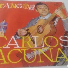 Discos de vinilo: CARLOS ACUÑA -TANGOS&TANGOS GARDEL.. Lote 209813172