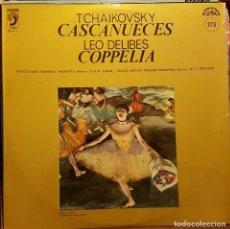 Discos de vinilo: TCHAIKOVSKY - CASCANUECES LEO DELIBES COPPELIA. Lote 209814260